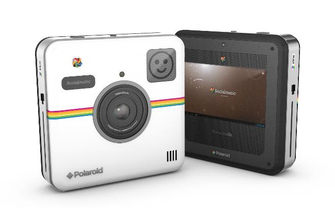 Socialmatic: фотоапарат зі вбудованим принтером!